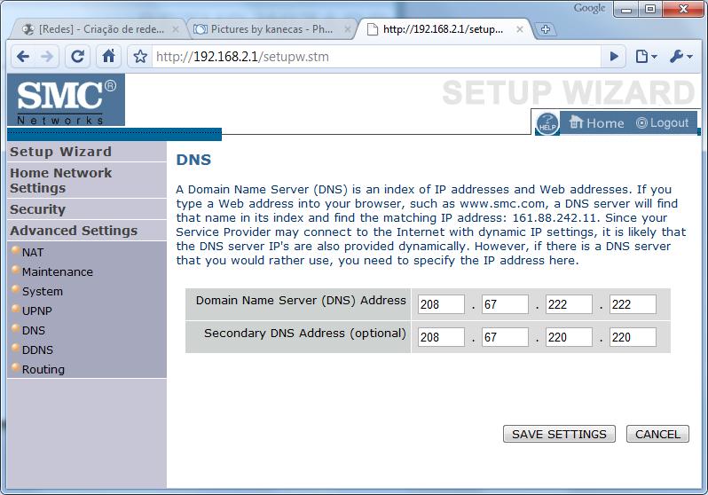 [Redes] - Criação de redes domésticas - Simplificado [windows 7] Conf9