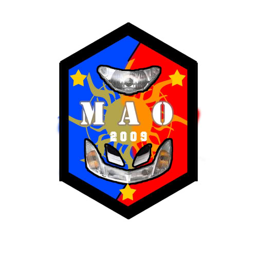 MAO T-Shirt MioFaceSilhouetteReversion