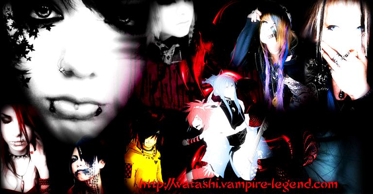 watashi vampire legend visual kei Aaaaaaaaaaaas