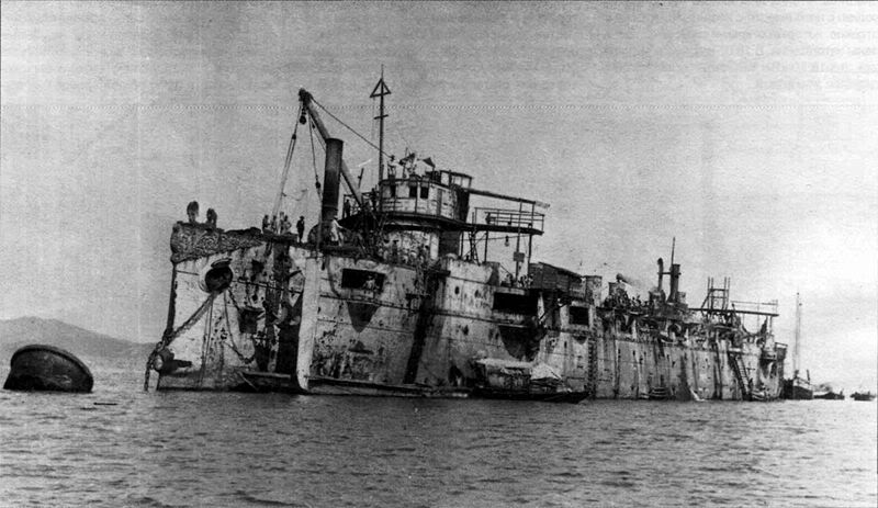 Croiseur Russe Varyag 1/350 Zvezda 800px-Varyag1905Chemulpo