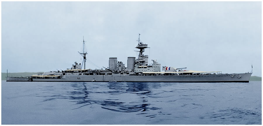 IJN Akagi de Hasegawa au 1/350 par Billy Budd - Page 3 HMS-Hood-1937