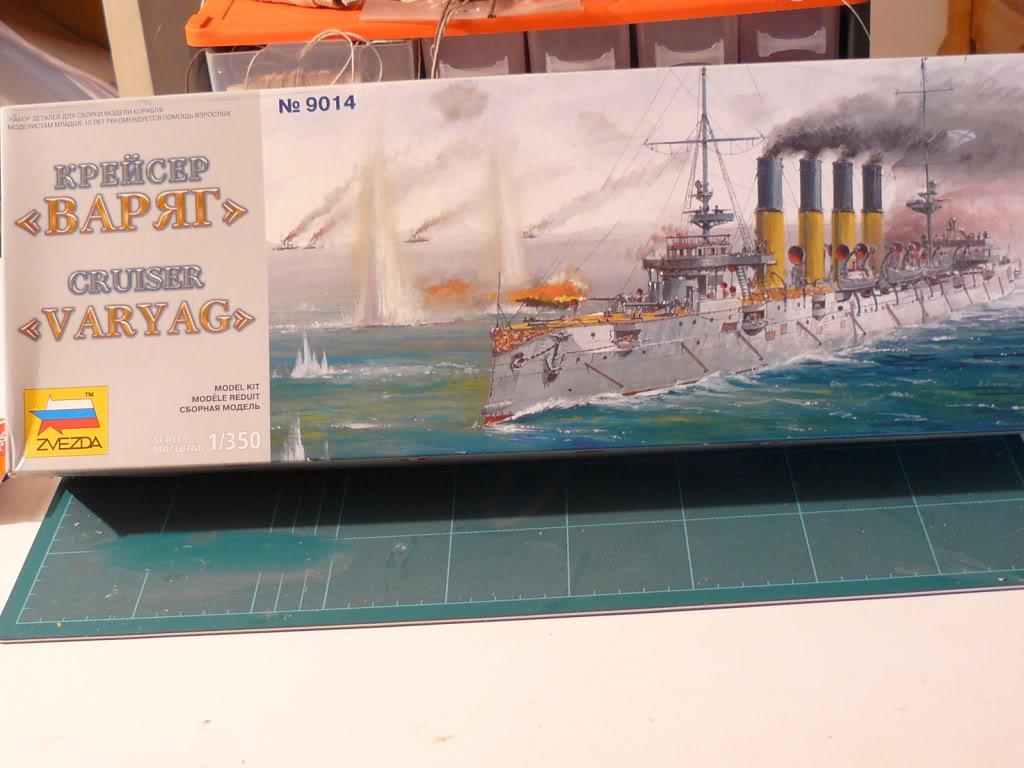 Croiseur Russe Varyag 1/350 Zvezda - Page 2 P1000097