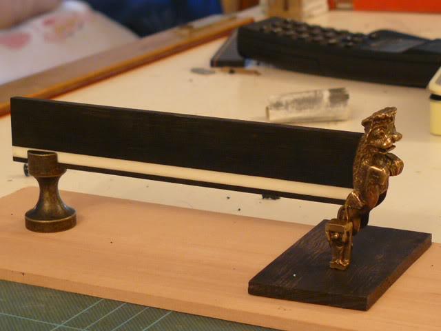 Coupe Vaisseau 1ère ligne inspirée du HMS Victory de Corel II P1000597