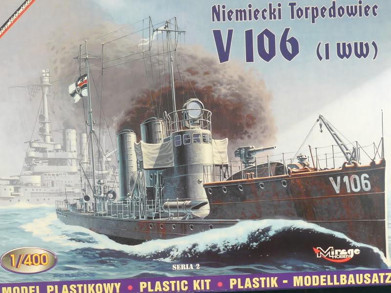 Torpilleur Polonais 1914 au 1:400 de Mirage par Billy Budd P1000641