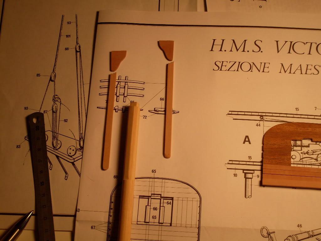 Coupe Vaisseau 1ère ligne inspirée du HMS Victory de Corel - Page 2 SDC10339