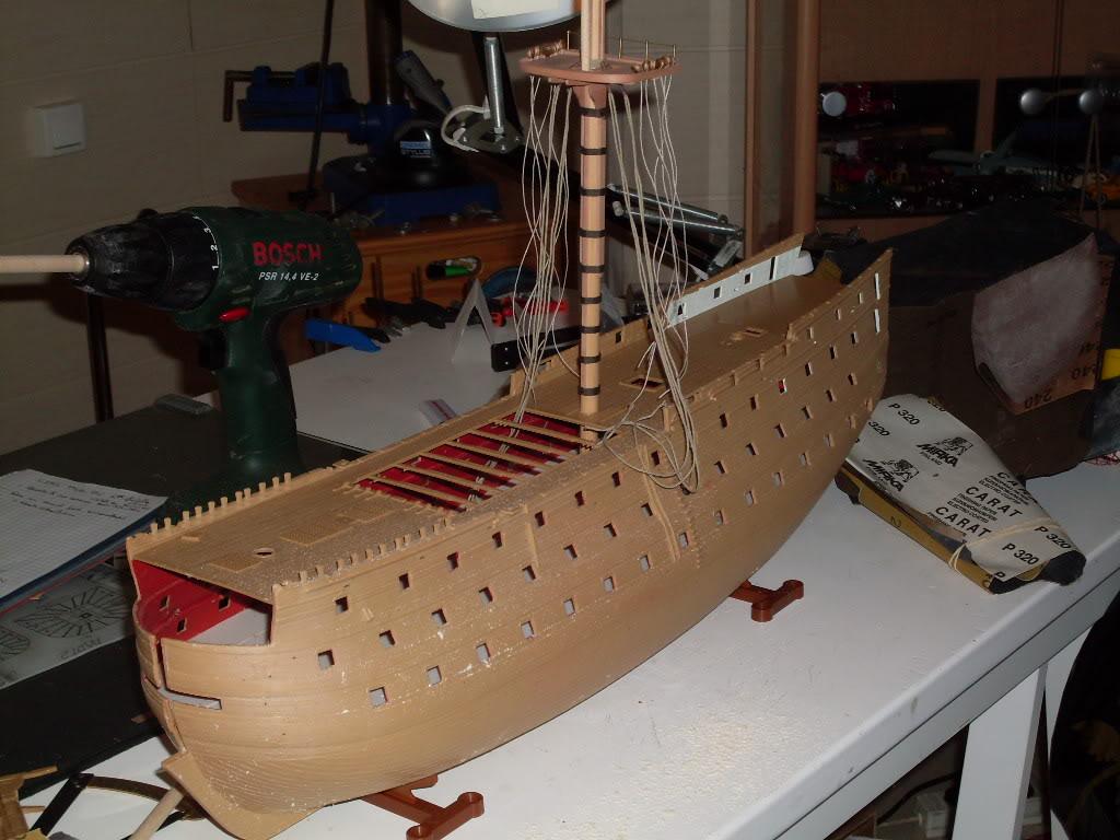 HMS VICTORY Heller 1/100 SDC10424-1