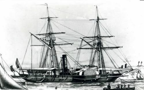 aviso PINGOIN 1886 1/350 Galilee_aviso_a_roues_en_1868_deven
