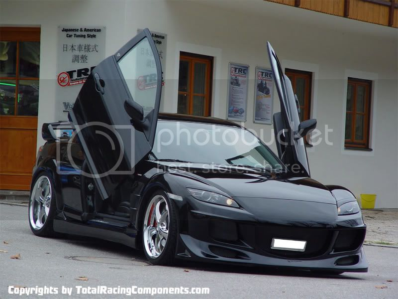 Mazda RX8 Black Mazda-RX8_black