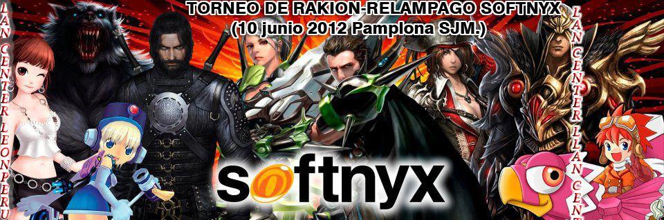TORNEO DE RAKION-LAN CENTER LEONPERU: RELAMPAGO SOFTNYX (10 junio 2012 Pamplona SJM.)  RAKIONTORNEO