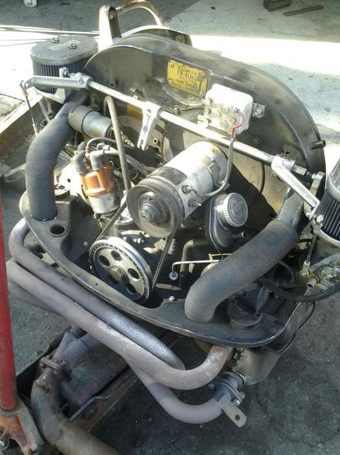 30 year old engine - built and rebuilt by Vallero's VW Werks 20130926_093832