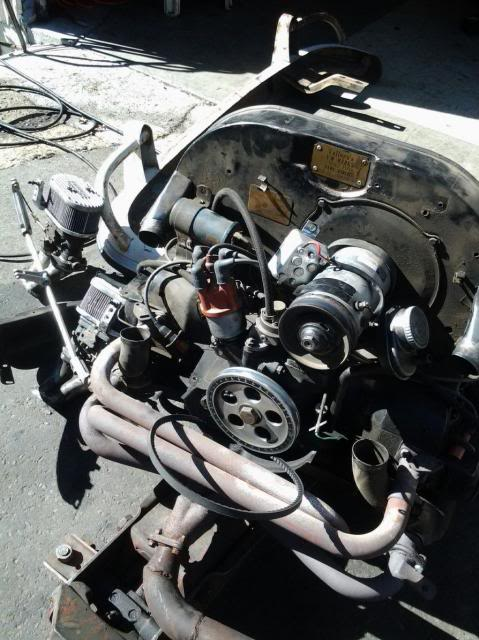 30 year old engine - built and rebuilt by Vallero's VW Werks 20130926_103433