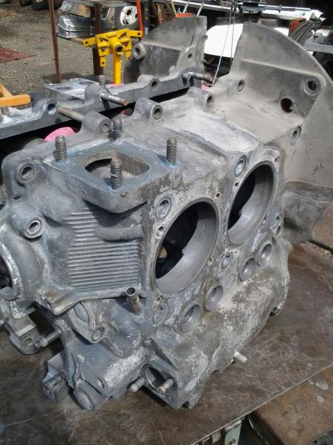 30 year old engine - built and rebuilt by Vallero's VW Werks 20130929_120844