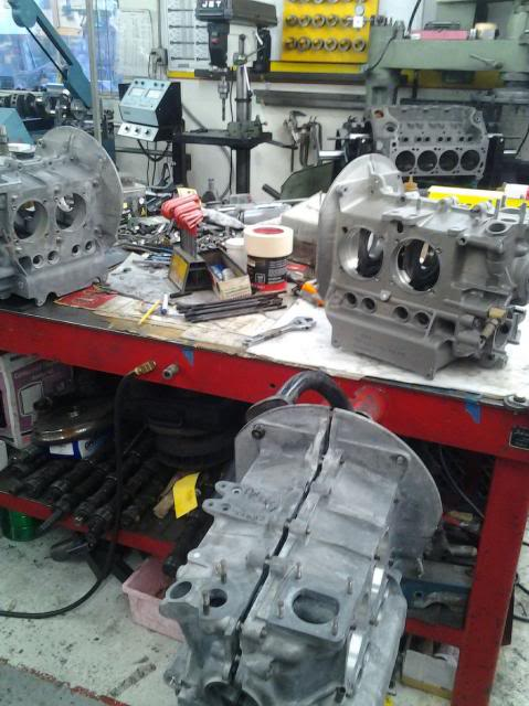 30 year old engine - built and rebuilt by Vallero's VW Werks 20131026_163259