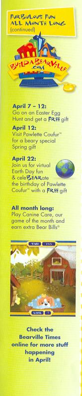 babw april 2009 calendar