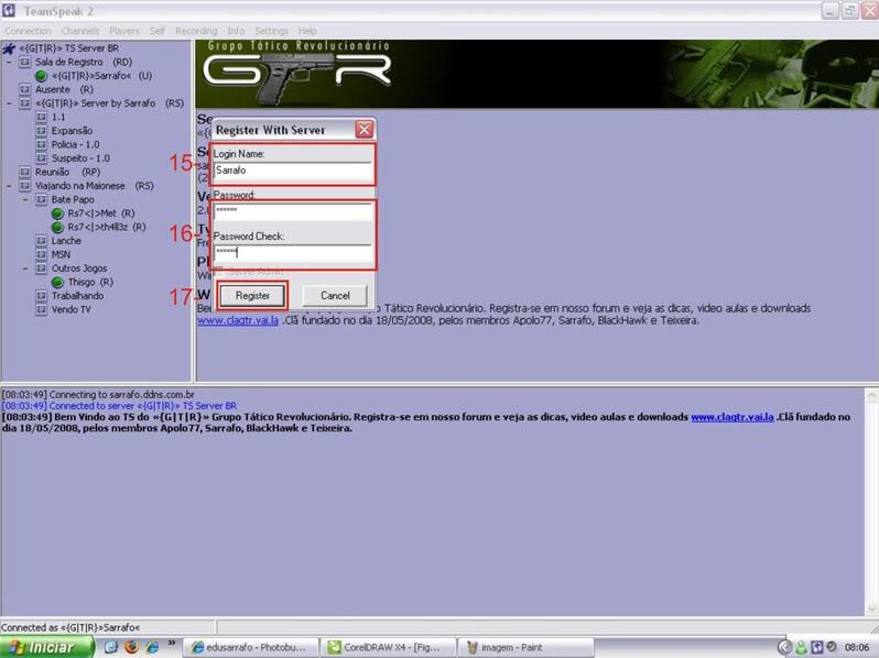 Tutorial como entrar em server no TS TeamSpeak Ts6-1