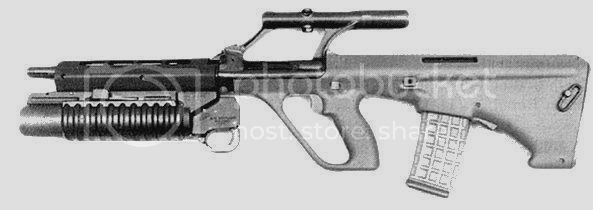 The Aug (Pictures & Info) AUG_M203