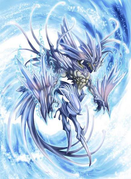 Vineria De Louge Roi - Goddess of the Hurricane {DONE} Blue
