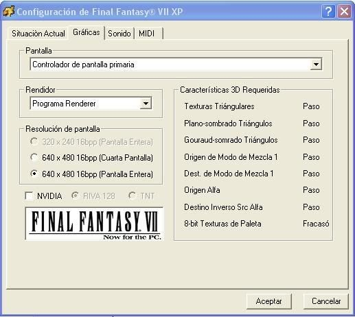 [MU][XRPG]Final Fantasy VII y VIII para PC [ESP] FFVII