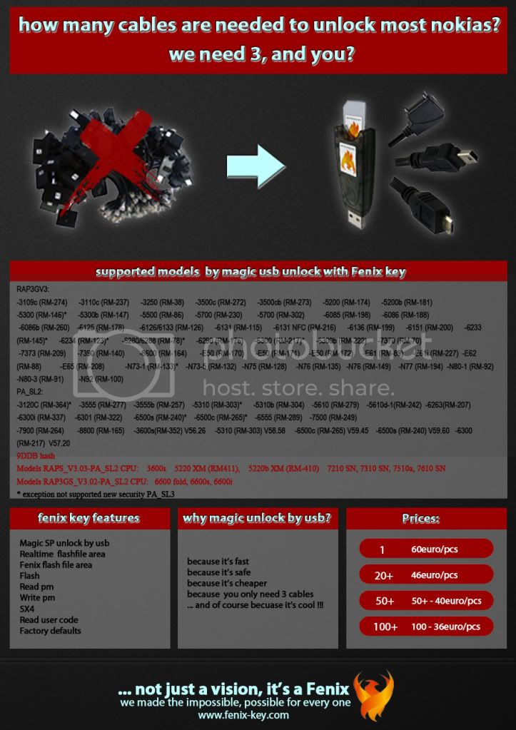 Fenix key surprise, BB5 unlock via UNLOCK BB5/BB5+ via USB, not need any box ;) Fenix-keytomorrow