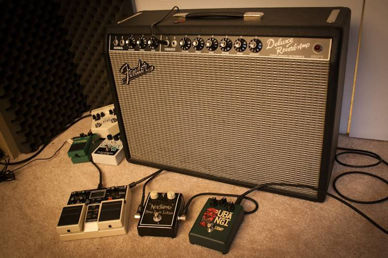 Welcome to the new forum, tell me about your rocking geetar! Amps