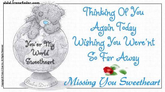 ~:~ I Miss You Cards ~:~ MissU64