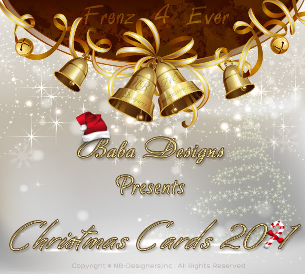 Christmas Cards 2011-By Baba Designs Xmas-cover