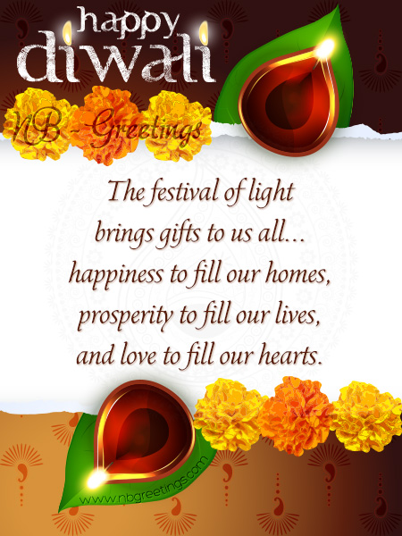 Diwali 2014 Cards Collection