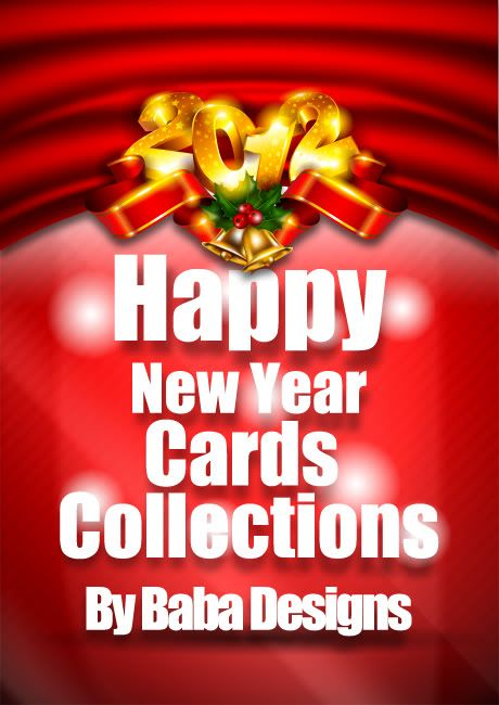 New Year 2012 cards collection by Baba New-year-card-cover