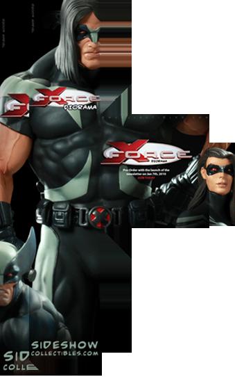 [LANÇAMENTO] Sideshow: X-Force Diorama - Veja em Vídeo!!! Unboxing Diorama Xforce