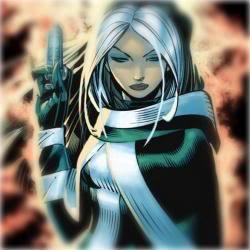 Ficha de Rouge X-Men-Girl