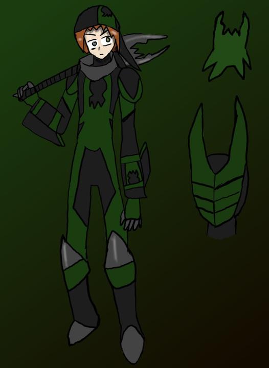 "Rover ""Roy"" Greenheart  (verde bandido y CPE ) Moddondaygreenbandit"