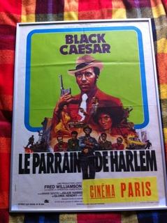 Film poster Black Ceasar 1970's  001