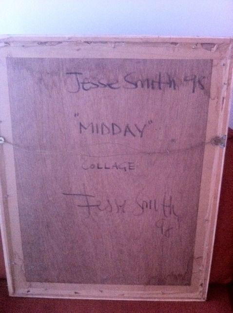 Mixed Media signed Jesse Smith 071