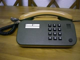 70's German telephone. CIMG3471