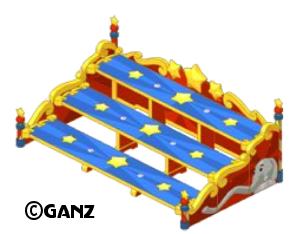 Circus Theme Items Bleacher