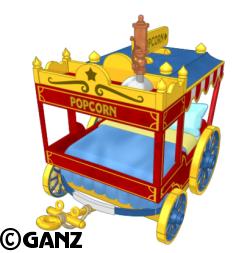 Circus Theme Items Circus-popcorn-bed