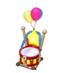 Circus Theme Items Estore_circusdiningchair
