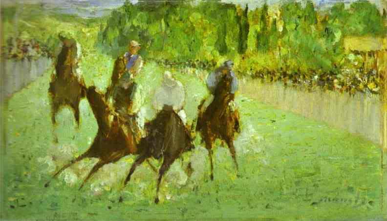 Manet - cha đẻ của nghệ thuật hiện đại EdouardManet-AttheRaces