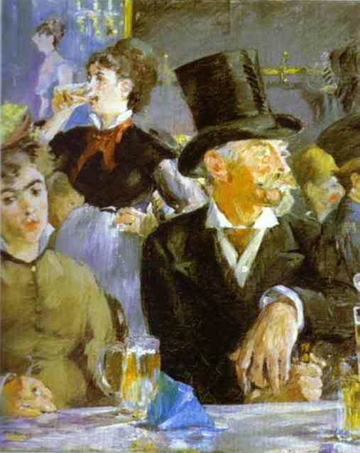 Manet - cha đẻ của nghệ thuật hiện đại EdouardManet-BockDrinkers