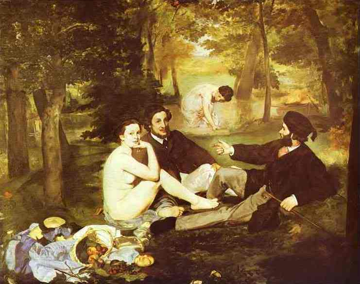 Manet - cha đẻ của nghệ thuật hiện đại EdouardManet-ThePicnicLeE9jeunersur