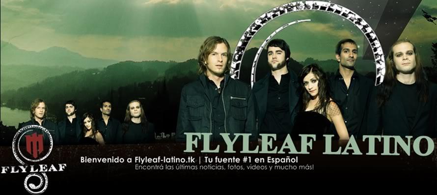 Flyleaf Latino | Flyleaf en español FLbanner