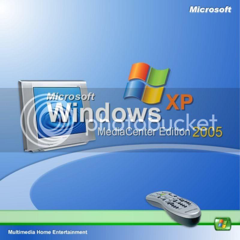 Windows XP Media Center Edition SP2 168vaf6