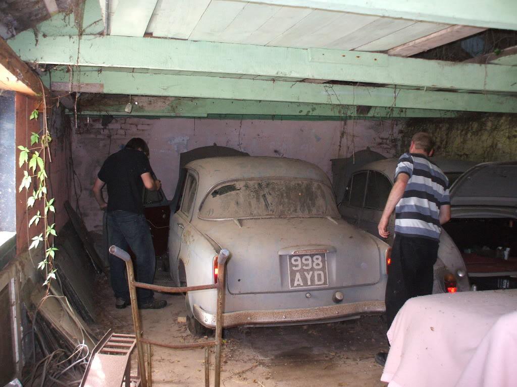 1958 Hillman Minx - Barn find DSCF1890