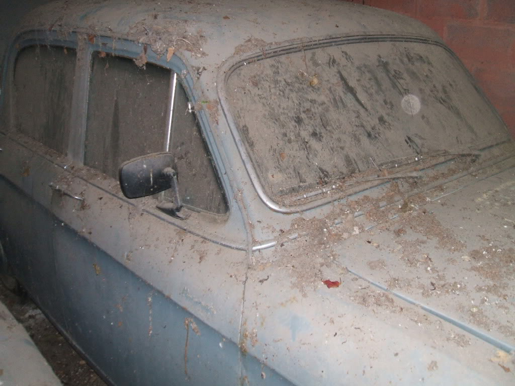 1958 Hillman Minx - Barn find DSCF5251
