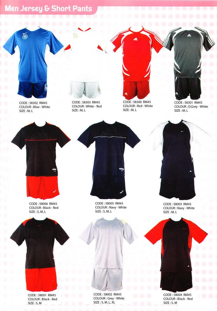 Pakaian, Kasut & Aksesori Lelaki, Wanita & Kanak2 Jersy2-1