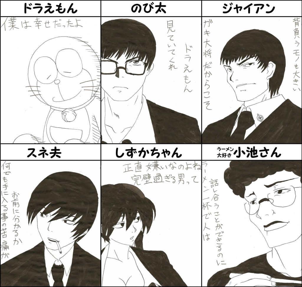 Doraemon dưới các nét vẽ khác :d 0d52cb64ca64a9c10f90dc9ac0c48651