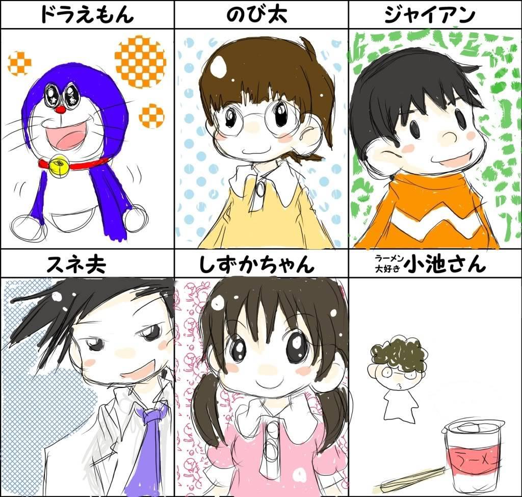 Doraemon dưới các nét vẽ khác :d 3773253