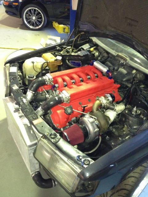 W201 V8 AMG ? Mais si ça exite     euhh, existe :P