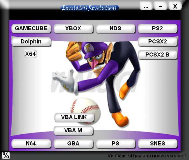 Emulators Revolutions - (Pack de emuladores) Emulatorsconemus