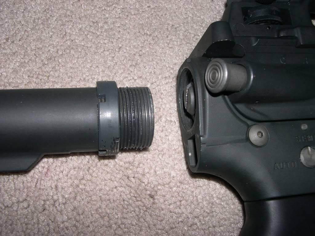 ARES Full Metal M4 (Advanced?) DSCN1992